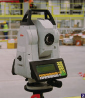 PES UK - Perfect partners - The Leica Absolute Tracker AT401 and Leica TDA5005 Industrial Total Station