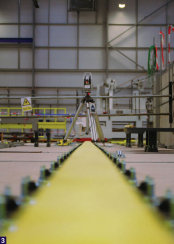 PES UK - Alignment of long rails - a task easily achieved with the Leica Absolute Tracker AT401